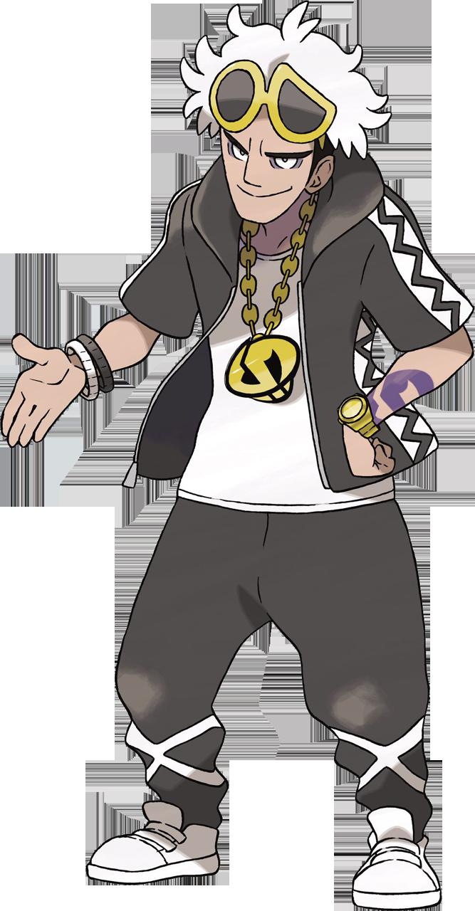 Top 5 des personnages les plus classes dans Pokémon - Page 2 Guzma-SL