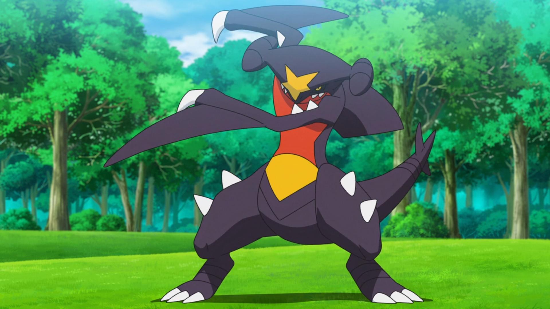 [Sondage] Votre top ~10 des plus beau Pokémons ? - Page 2 Carchacrok_de_Cynthia