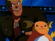 Major Bob et Raichu