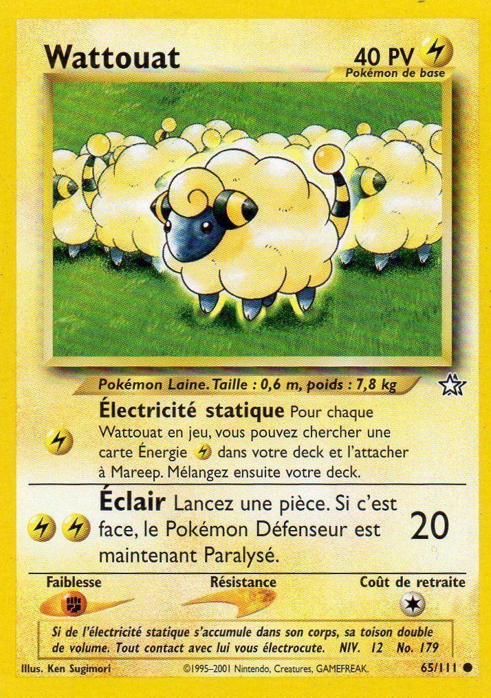 Wattouat neo genesis 65 pok p dia - Pokemon wattouat ...