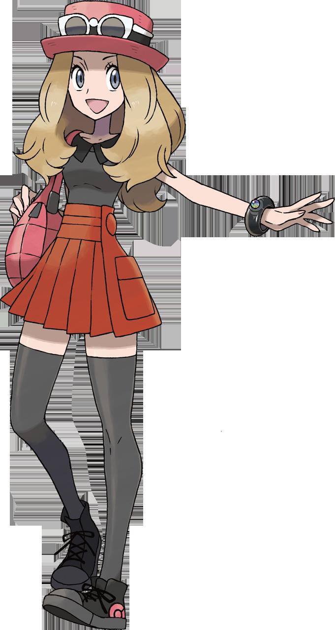 Top 5 des personnages les plus classes dans Pokémon - Page 2 Serena-XY