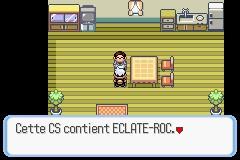 comment avoir eclate roc dans pokemon saphir alpha