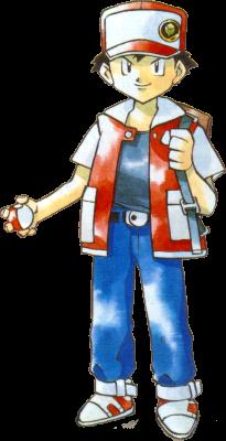 Podium, sparkles et coiffures de ouf: la mode Pokémon ~ (Now: Red) - Page 2 Red-RB
