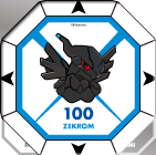 Pièce Pokémon Battle Chess BW Version - Zekrom retourné.png