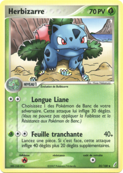 Pokemon Ivysaur Card
