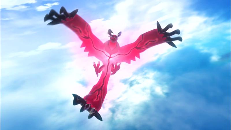 Pokémon X, Pokémon Y: Les Pocket Monsters en 3D pour octobre! 800px-L%C3%A9gendaire_Y