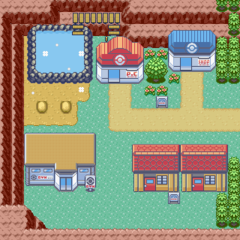 how to get to the fourth gym in pokemon emerald