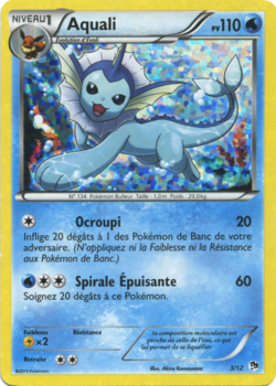 Aquali promo mcdonald 39 s 2013 3 pok p dia - Carte pokemon aquali ...