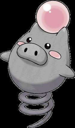 Spoink pok p dia - Cochon pokemon ...
