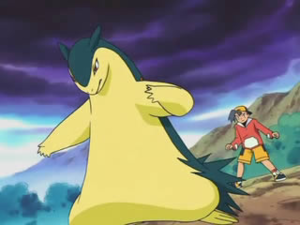 Typhlosion pok p dia - Evolution pokemon argent ...