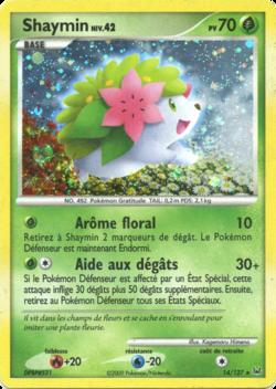 Shaymin platine 14 pok p dia - Pokemon platine evolution ...