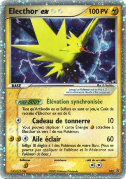 Electhor ex promo nintendo 033 pok p dia - Photo de carte pokemon ex ...