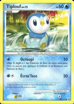 Tiplouf platine 85 pok p dia - Pokemon platine evolution ...