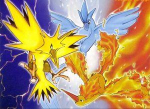 Oiseaux l gendaires pok p dia - Pokemon legendaire pokemon y ...