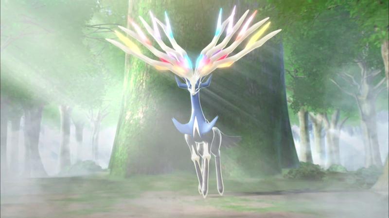 Pokémon X, Pokémon Y: Les Pocket Monsters en 3D pour octobre! 800px-L%C3%A9gendaire_X