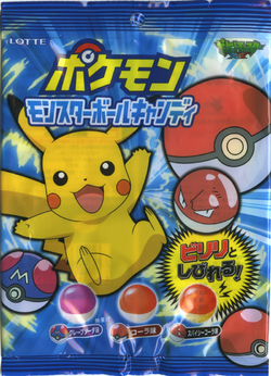 Sachet de Pokémon Monster Ball Candy