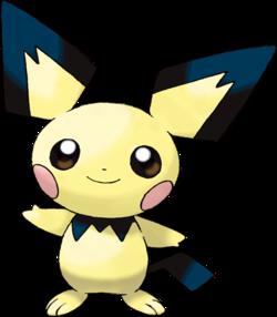 Pichu pok p dia - Pokemon famille pikachu ...
