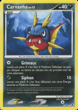Carvanha platine rivaux mergeants 58 pok p dia - Pokemon platine evolution ...