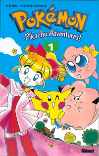 Pikachu Adventures! Tome 1 Recto.png