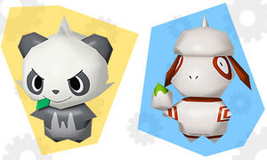 Pokemon Rumble World apparaît ! 300px-Pandespiègle_et_Queulorior